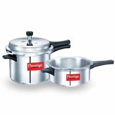 Prestige Aluminium Cooker Combo 2L + 3L (with one lid)