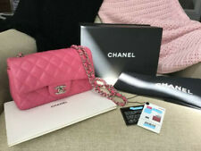 """100% AUTHENTIC """"CHANEL"""" Lambskin Quilted Mini Pink Handbag!!"""