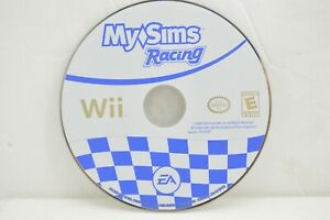(Disc Only) My Sims Racing Game Nintendo Wii, 2009