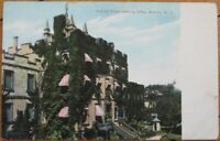 Auburn, NY 1908 Postcard: Prison & Office - New York