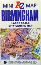 Birmingham Geographers A-Z Map Mini Sheet City Centre Street Sheet Folded - New