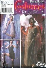 OOP Simplicity Sewing Pattern 5400 Jazz Singer Flapper Costume  Size 14 16 18 20