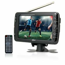 Axess 7-Inch AC/DC, LCD TV with ATSC Tuner, Rechargeable Battery and USB/SD