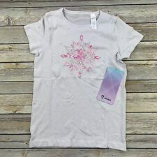 Lululemon Ivivva Breathe Through It SS Tee Shirt Size 8 Gym New