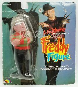 "A Nightmare on Elm Street 8"" Freddy Figure Squish'Em 1989 LJN Toys No. 5331 NRFP"