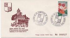 FRANCE 1973.F.D.C.4e EXPOSITION PHILATELIQUE.OBLIT:LE 5-6/5/73 VERFEIL n°000527