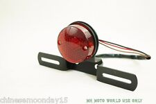 CJ750-small round tail light with mount 12V