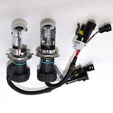 H4 H4-3 12000k Blue Hi Low Beam HID Bi - Xenon Replacment 2 Bulbs Lamps Lights