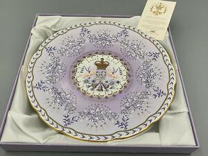 The Royal Collection Diamond Wedding H.M.The Queen & Duke of Edinburgh Plate.