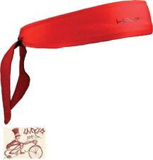 HALO I TIE RED HEADBAND--ONE SIZE