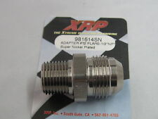 12an Male Flare to 1/2 inch npt straight nipple Super Nickle XRP 981614sn