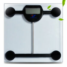 Digital Sensor Lcd Body Scale Tempere Glass Weight Bathroom Scale with Batteries