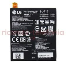batteria BL-T16 originale LG H955 G Flex 2 pila nuova sostitutiva 3000mAh bulk