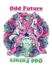 Odd Future Wolf Gang Kill Them All (OFWGKTA Gig Poster)