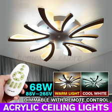 5 Head Modern Ceiling Light Led Acrylic Lamp Chandeliers For Living Room Bedroom