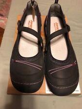 Women's J Sport by Jambu Norwich Shoes Black & Purple Size 11M New in Box