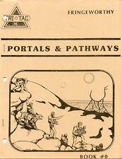 FRINGEWORTHY PORTALS & PATHWAYS BOOK 0 TRI TAC INC  FANTASY RPG EXC!