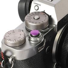 Selens Shutter Button Soft Release Metal Convex Purple Fuji XT3 X-Pro1 X-Pro3
