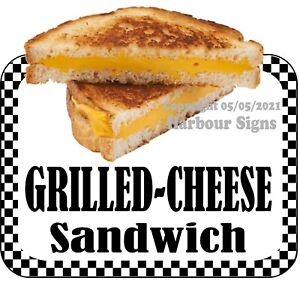 Grilled Cheese Sandwich DECAL (CHOOSE YOUR SIZE) Food Truck Concession Sticker