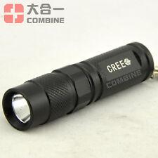 Super Light CREE XPG-R5 LED Mini Flashlight Torch Keychain 14500/AA Light