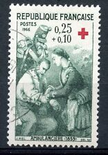 STAMP / TIMBRE FRANCE OBLITERE N° 1508 CROIX ROUGE AMBULANCIERE