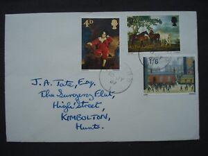 Great Britain Postal Cover British Paintings 10 July 1967