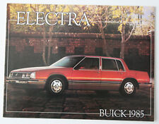 BUICK ELECTRA 1985 dealer brochure - French - Canada - ST501001117