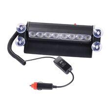 8 LED Safety Warning Lights Emergency Beacon Car Truck Flashing Strobe Light Bar