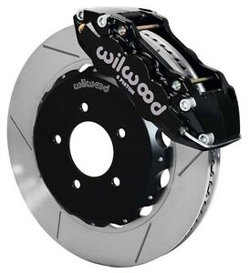 "WILWOOD DISC BRAKE KIT,FRONT,99-06 BMW E46,320i,323i,325i,328i,330i,14"",BLACK"