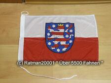 Fahnen Flagge Thüringen Bootsfahne Tischwimpel Biker - 30 x 45 cm