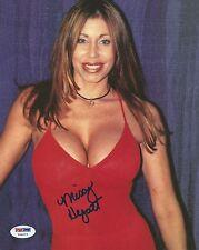 Missy Hyatt Signed 8x10 Photo PSA/DNA COA WWE WCW ECW Picture Autograph Diva 1