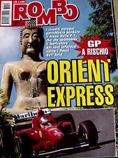 Rombo 48 1996 Gp F1 a rischio Orient Express - Sfida italiana sui KART [R2]