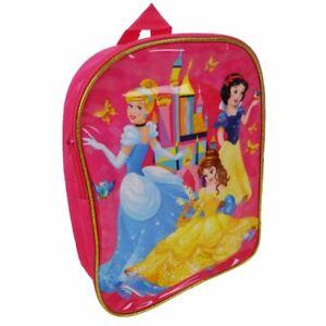 Disney Princess Fairytale Friendship School Backpack Bag - Childrens Belle Small