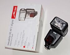 Used Metz Mecablitz 50 AF-1 Flash for Pentax DSLR Camera