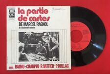 MARIUS LA PARTIE DE CARTES MARCEL PAGNOL RAIMU 2C0082954 VG VINYLE 45T SP