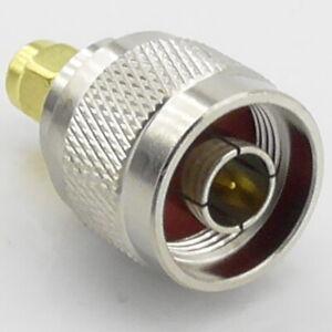 SMA Male Plug to N Type Male Plug RF Adaptor Interseries Between Series