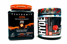 Performix ION Watermelon + ProSupps Mr Hyde NitroX Punch PRE WORKOUT COMBO STACK