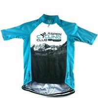 The North Face Aspen Cycling Club, Mens XS Race Cut Jersey Bicycle Shirt Primal