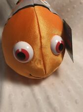 "Disney Pixar Finding Nemo Plush NEMO Fish Toy 11"" Silky Body New Applause"