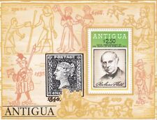 (21353) Antigua MNH Rowland Hill minisheet 1979 unmounted mint