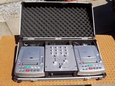 Stanton Dj Suitcase 2 Cd Players S.250 with Mixer Stanton Smx.211 Good Cond