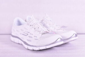 Women's Skechers Gratis - Going Places Slip On Fashion Sneakers, White, 10W