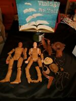 Vintage Marx Best Of The West Action Figures with Accessories
