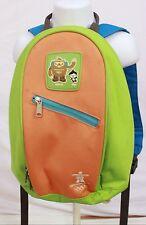 Vancouver Olympics Backpack Miga Quatchi Preschool Book Bag Small 2010 Orange