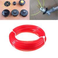10m x 2mm strimmer line brushcutter grass trimmer nylon cord wire round string P