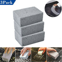 3x Grill Cleaner/Grill Griddle Brick BBQ Barbecue Scraper Cleaning Stone Kitchen
