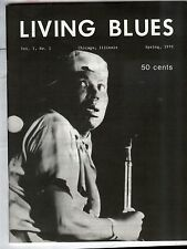 LIVING BLUES Magazine #1 Howlin' Wolf, Magic Sam, Blues &  Church (1970 reprint)