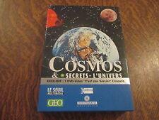 """pc/mac cd-rom cosmos & les secrets de l'univers  1 dvd-video """"c'est pas sorcier"""""""