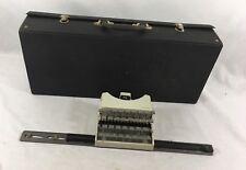 Machine à écrire De COLLECTION GRITZNER  TYPEWRITER VINTAGE  TBE