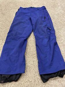 BURTON Tri-lite Blue snowboarding pants Size XL Measure: 36 X 32